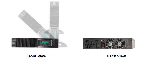 UPS Powercom VRT-2000-2U
