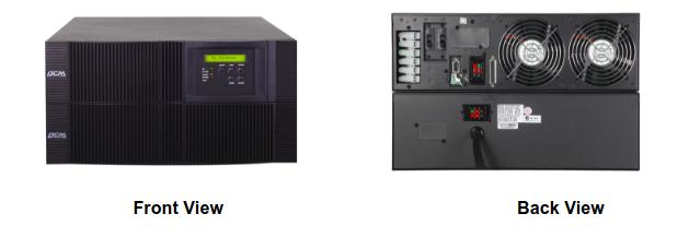 UPS Powercom VRT-10K -3U+3U