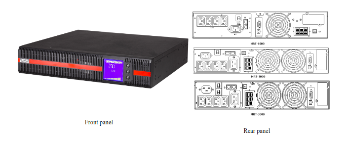 UPS Powercom MRT-1000-2U
