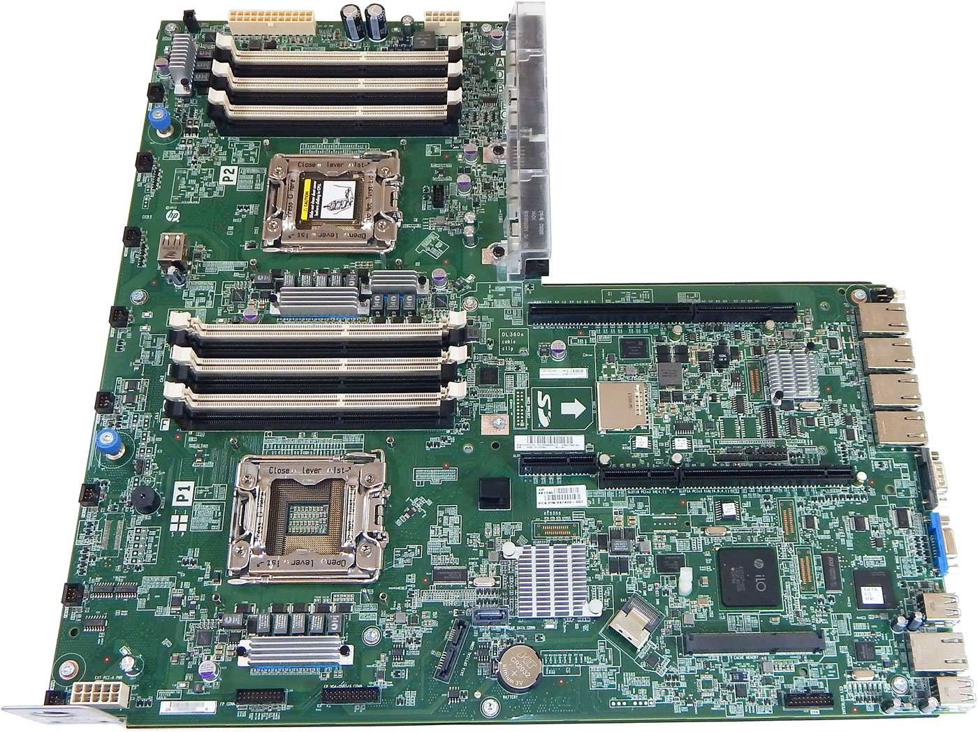 HP MOTHERBOARD FOR HP PROLIANT DL360E G8 / DL380E G8 - SYSTEM BOARD