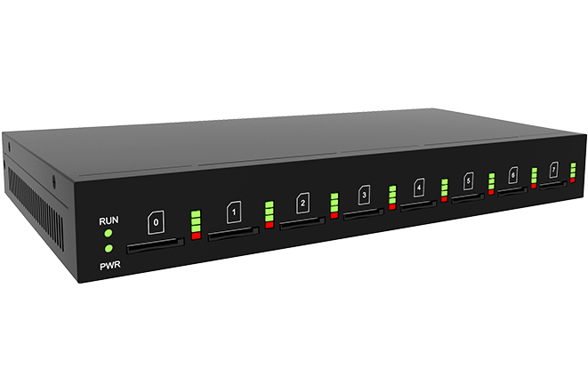 Thiết Bị Chuyển Đổi Gateway Dinstar UC2000-VE-8G-B
