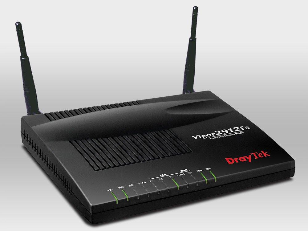 Thiết Bị Mạng Cân Bằng Tải Wifi Draytek Vigor2912Fn Wireless Fiber Router