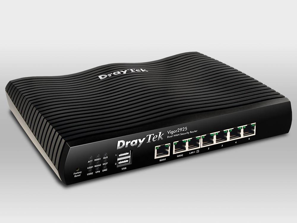 Thiết Bị Mạng Cân Bằng Tải Draytek Vigor2925 VPN Router