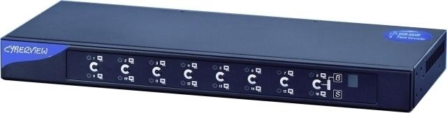 Cyberview 16-port USB & SUN Server CV-S1601