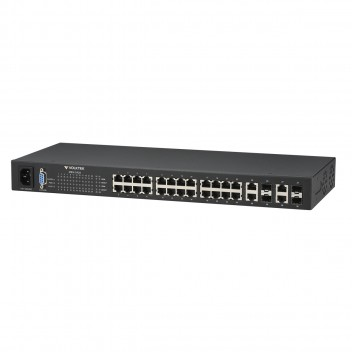 Switch VOLKTEK MEN-5428 Layer 2 METRO GIBABIT SWITCH 24 port