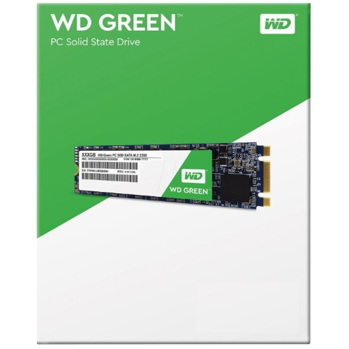 Ổ Cứng SSD Western Digital WD Green M.2-2280 2.5inch 120GB SATAIII