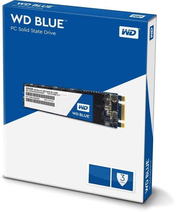 Ổ Cứng SSD Western Digital WD Blue 250GB 3D NAND M.2 2280 SATA3