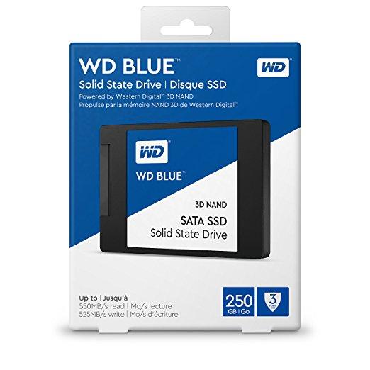 Ổ Cứng SSD Western WD Digital 3D NAND Blue 250GB 2.5inch SATA3