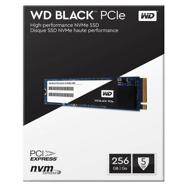 Western Digital WD BLACK SSD 2.5'' 256GB (M2-2280)