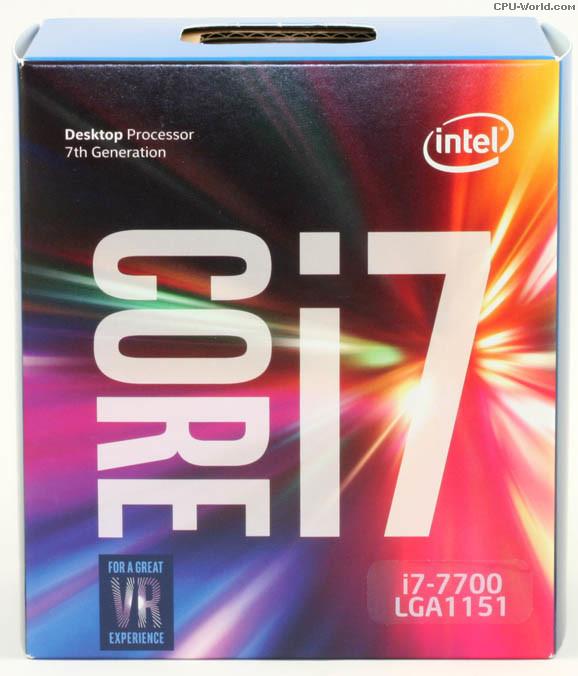 Bộ xử lý Intel® Core™ i7-7700 8M bộ nhớ đệm, tối đa 4.20 GHz