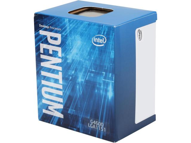Intel® Pentium® Processor G4600 3M Cache, 3.60 GHz