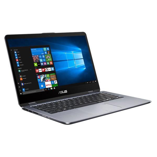 Máy xách tay/ Laptop Asus TP410UA-EC250T (I3-7100U) (Xám)