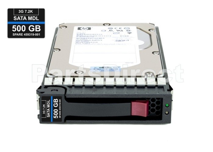 482483-002 HP 500-GB 3G 7.2K 3.5 SATA HDD