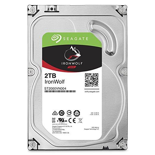 Ổ Cứng HDD Seagate 2TB IronWolf NAS SATA 6Gb/s NCQ 64MB Cache 3.5inch  SATA3
