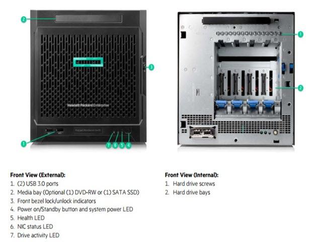 HPE ProLiant MicroServer Gen10 Plus 4LFF