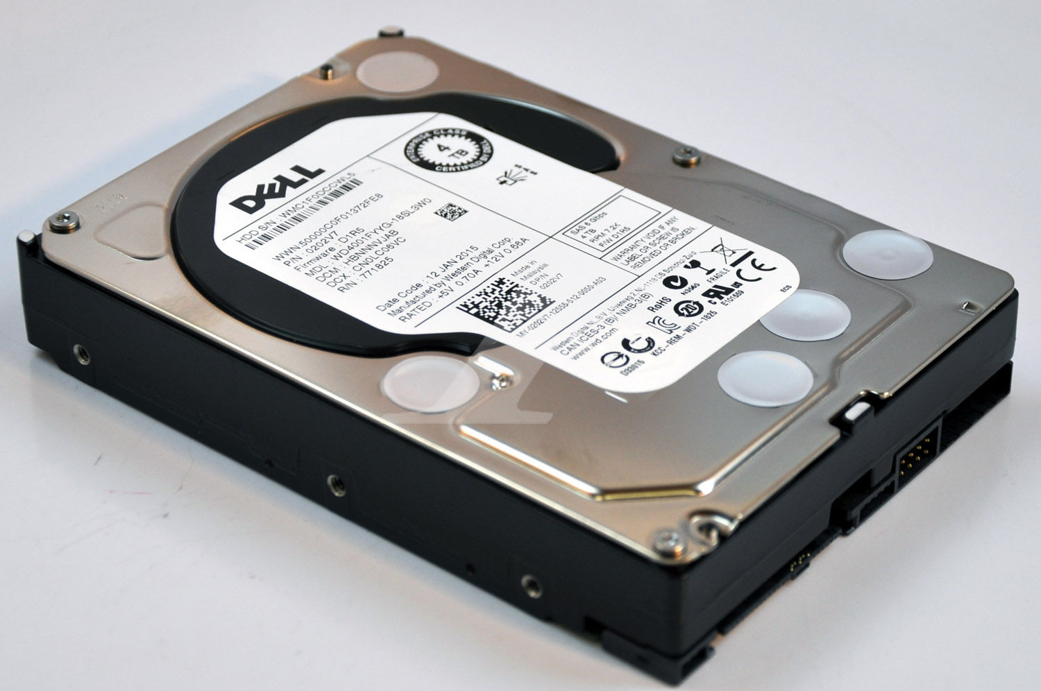 Ổ Cứng HDD 4TB Dell Enterprise 7200 RPM 6Gbps SATA 3.5inch
