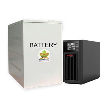 Nguồn Lưu Điện 6KVA UPS SANTAK ONLINE C6KS (LCD)