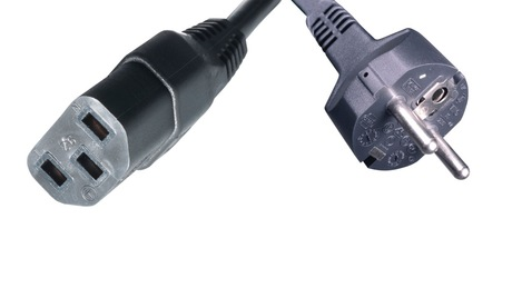 JW118A PC-AC-EC Continental European/Schuko AC Power Cord