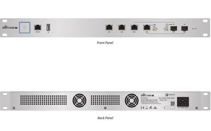 Thiết bị định tuyến UniFi Security Gateway