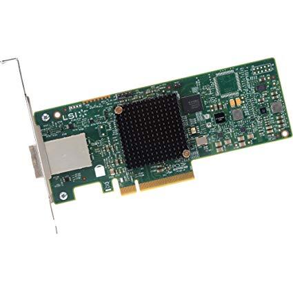 LSI SAS 9300-8e SAS 12Gb/s PCIe 3.0 8-Port Host Bus Adapter