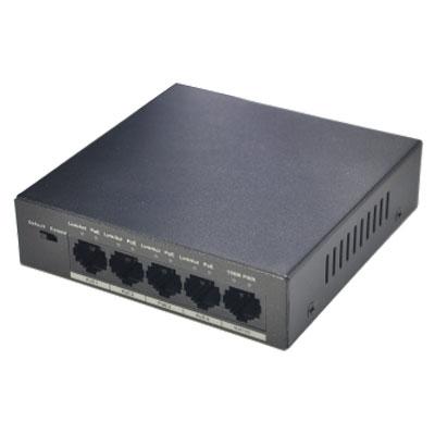 Thiết Bị Mạng Switch Dahua 4 Ports 10/100Mbps PoE PFS3005-4P-58