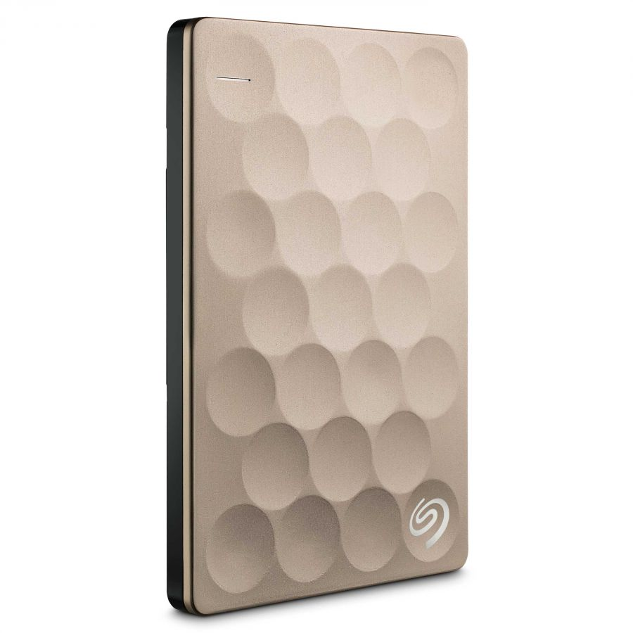 Ổ cứng HDD Seagate 1TB Backup Plus Ultra Slim 3.0, 2.5'' (Vàng)