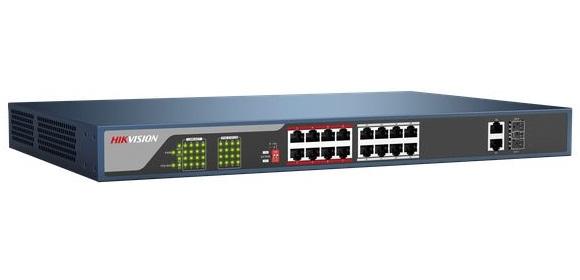 SWITCH POE 24-port 10/100Mbps HIKVISION DS-3E0326P-E/M