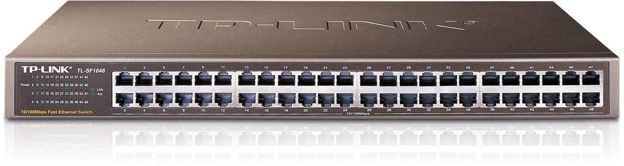 Thiết Bị Mạng Switch TP-Link 48 Port 10/100Mbps TL-SF1048