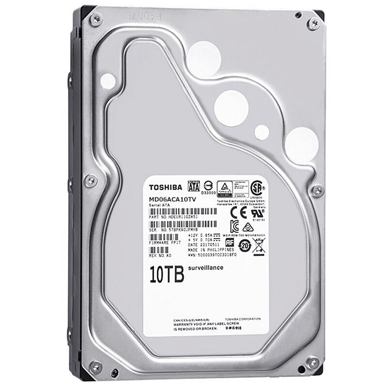 HDD Toshiba 10TB SATA 6Gb/s 3.5