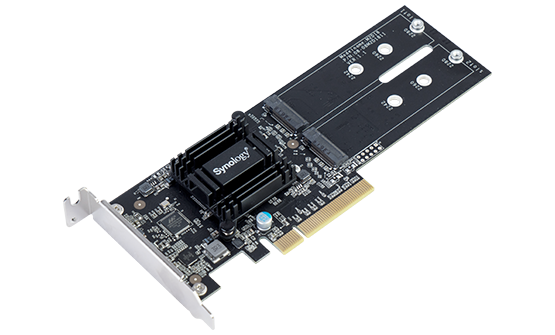Synology M2D18 Dual M.2 SSD Adapter Card