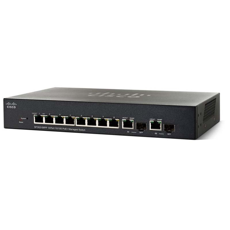 Cisco SF352-08MP 8-Port 10/100 POE Managed Switch