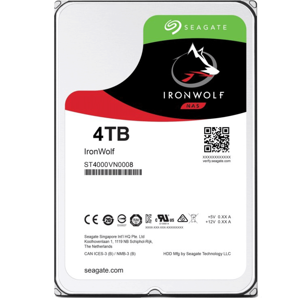 Ổ Cứng HDD Seagate Ironwolf NAS 4TB 3.5
