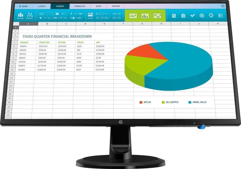 Màn Hình LCD HP 23.8inch N246v 1RM28AA (1920x1080/IPS/60Hz/5ms)