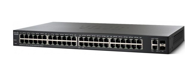 Thiết Bị Mạng Switch Cisco 48 port 10/100 Smart Plus SF220-48-K9-EU