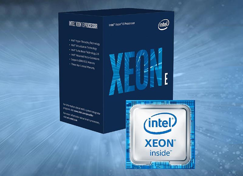 Intel® Xeon® E-2124 Processor 8M Cache, up to 4.30 GHz