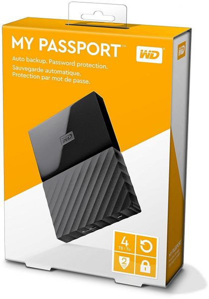 HDD WD My Passport 4TB 2.5