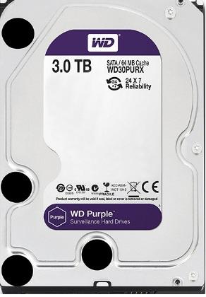 Ổ Cứng HDD Western Digital Purple 3TB 3.5inch SATA3 64MB Cache IntelliPower