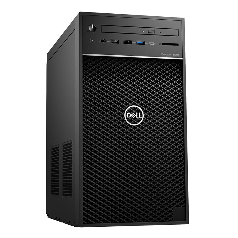 Dell Precision 3630 Mini Tower (42PT3630D06) Xeon E-2124/ 2x4GB/ 1TB/ Radeon Pro WX 3100 4GB/ 3Yrs Warranty