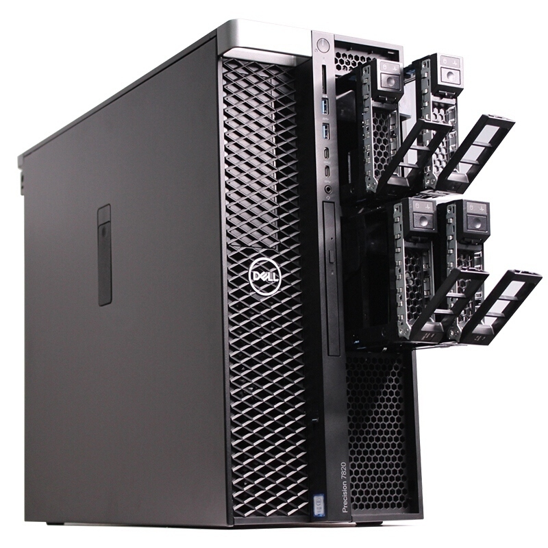 Dell Precision 7820 Tower (42PT78D022) Xeon Bronze 3104/ 4x8GB/ 2TB/ NVIDIA Quadro P4000 8GB/ 3Yrs Warranty