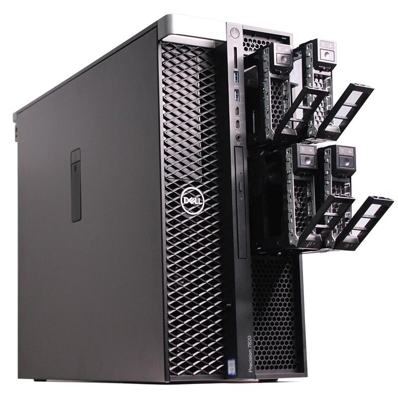 Dell Precision 7820 Tower (42PT78D023) Xeon Bronze 3106/ 2x8GB/ 2TB/ NVIDIA Quadro P4000 8GB/ 3Yrs Warranty