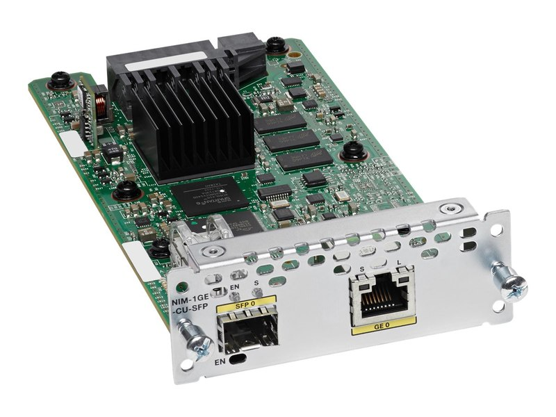 Cisco 1-Port Gigabit Ethernet WAN Network Interface Module