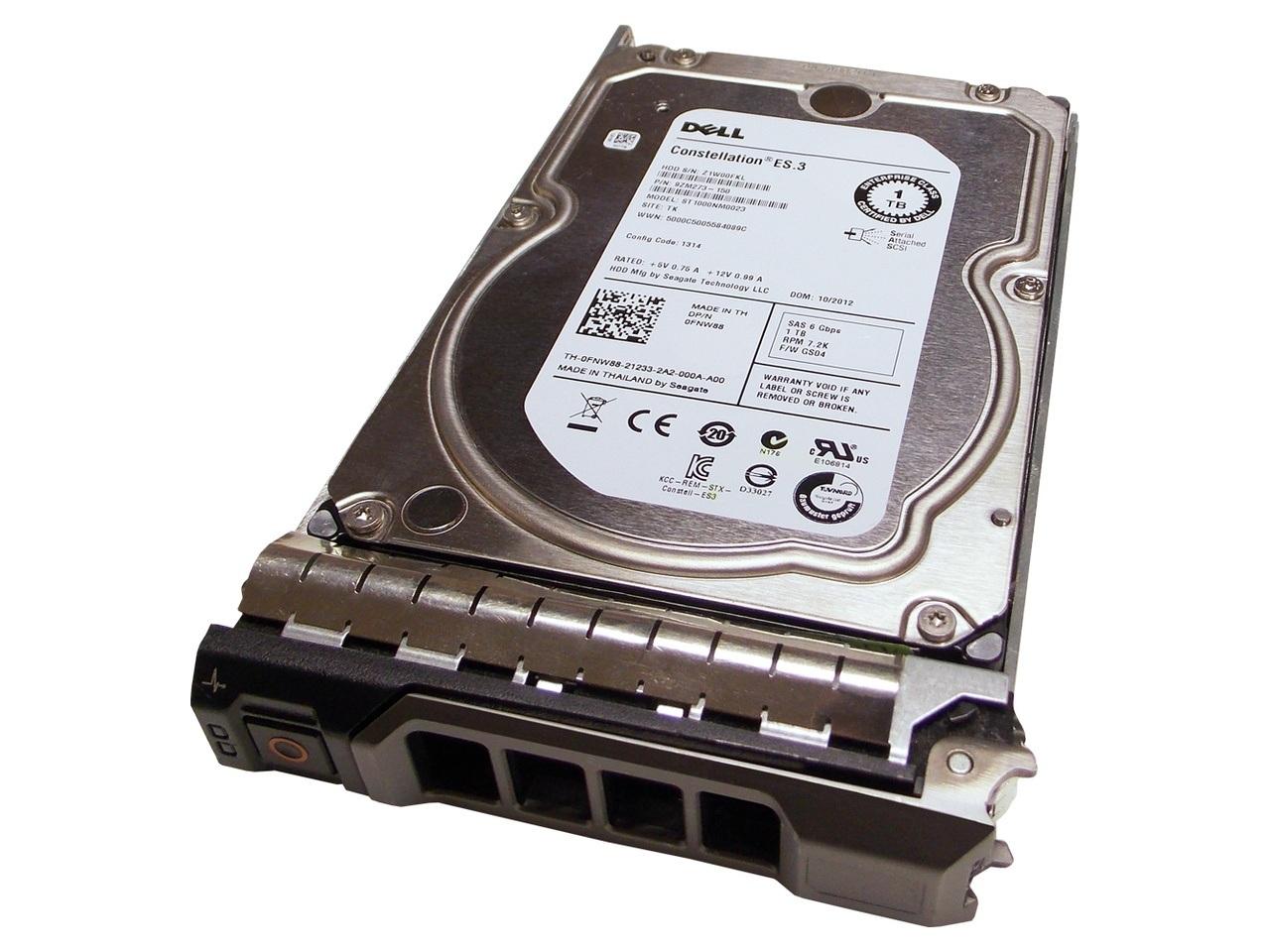 Ổ Cứng HDD Dell 1TB 7.2K RPM SAS 3.5inch 6GB Hard Drive