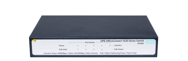 Thiết Bị Mạng Switch HPE 1420 5G PoE+ (32W) JH328A
