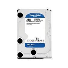 Ổ Cứng HDD Western Digital Blue 2TB 3.5inch 256MB Cache 5400RPM SATA3