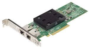 DELL Broadcom 57416 Dual Port 10Gb, Base-T, PCIe Adapter, Full Height, Customer Install