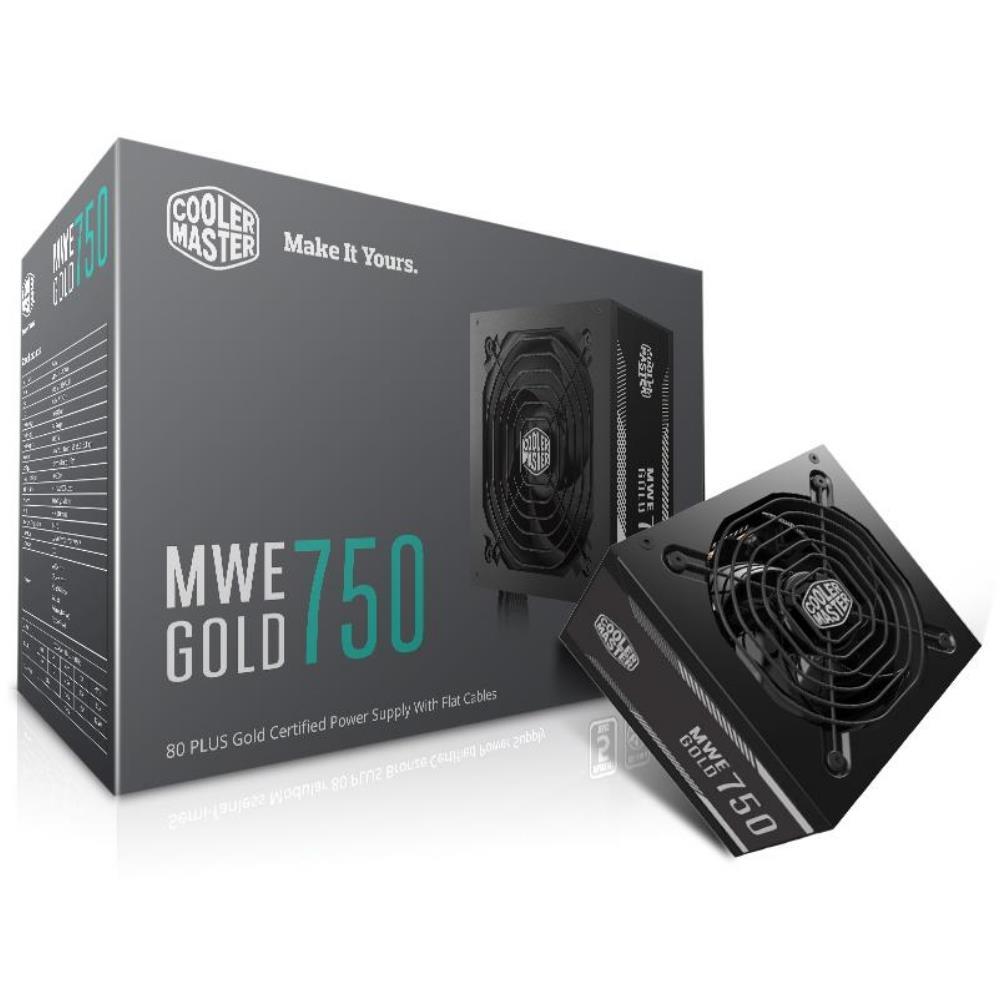Nguồn Cooler Master MWE 750W 80 Plus Gold