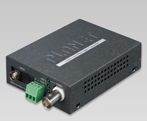 VF-102G-KIT 1-Channel 4-in-1 Video over Gigabit Fiber Bundle Kit (VF-102G-T + VF-102G-R)