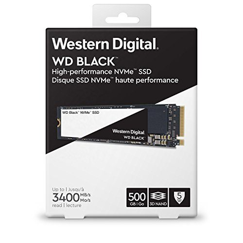 Ổ cứng SSD Western Digital Black 500GB M.2 2280 NVMe - WDS500G2X0C