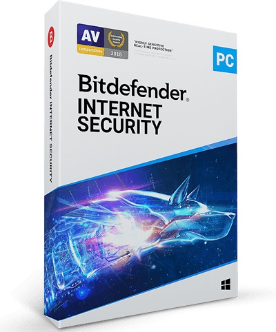 BITDEFENDER INTERNET SECURITY 2020 - 1 Device - 1 Year
