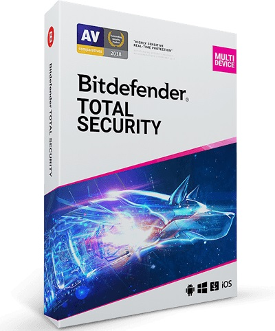 Bitdefender Total Security 2020 - 5 Device - 1 Year